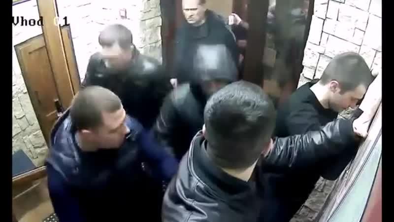 Ментовский беспредел в ресторане Семь пятниц - сотрудник невиновен!
