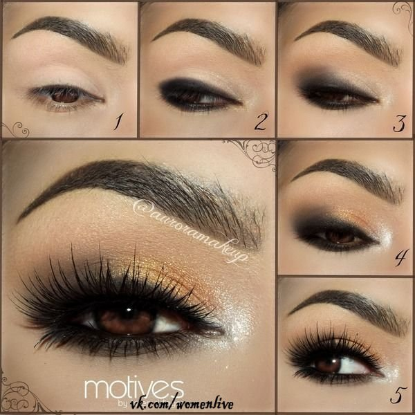 делать такой макияж?