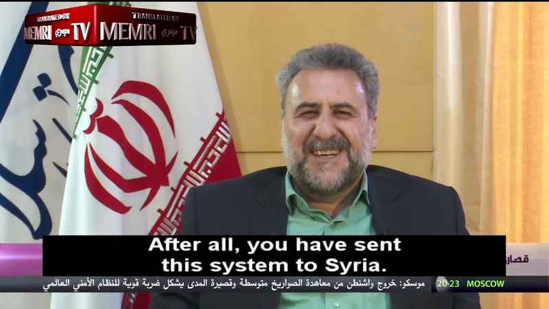 Senior Iranian MP Pishe Calls on Russia to Activate S-300 Systems during Israeli Air Strikes