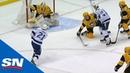 Lightning's Point Scores Natural Hat Trick, Mounts Comeback Vs. Penguins