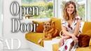 Inside Mandy Moores $2.6 Million Mid-century Home in Pasadena Open Door