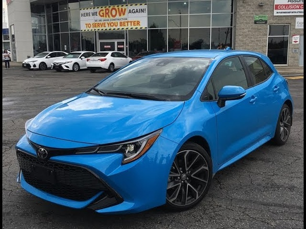 2019 Toyota Corolla Hatchback SE Upgrade Package Walkaround Brampton ON Attrell Toyota