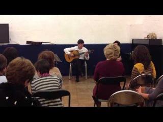 Виртуоз русской семиструнной гитары Сумин Владимир
