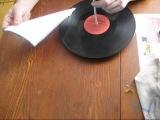 как сделать  проигрыватель для пластинки