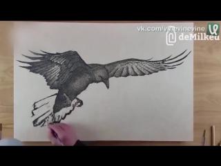 Рисунки порохом