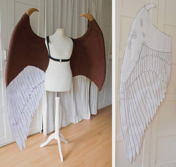 Малефисента крылья своими руками