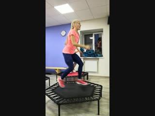 JUMPING в фитнес-клубе МАЛИНА