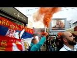 Обзор сербских болельщиков в Калининграде