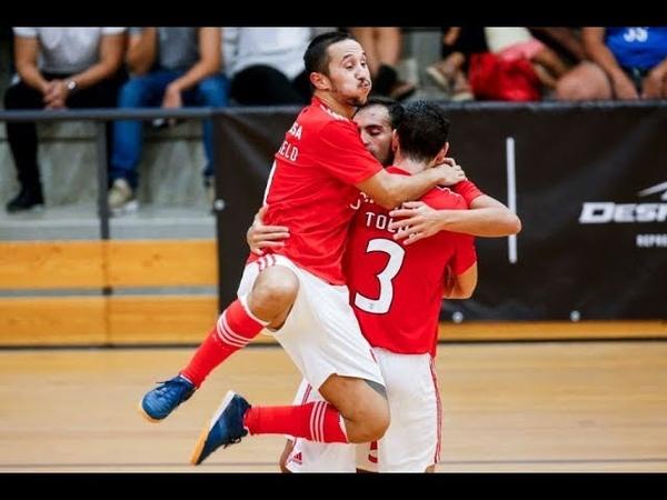 Liga Sport Zone | 1.ª Jornada: Benfica 4-0 Leões Porto Salvo