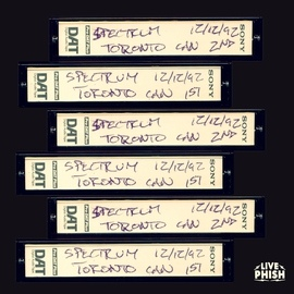 Phish альбом PHISH: 12/12/92 The Spectrum, Toronto, ON (Live)