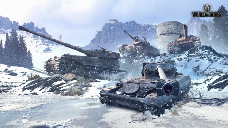 World of Tanks sladis07 SP2CE линия фронта
