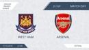 AFL18. England. Premier League. Day 25. West Ham United - Arsenal.