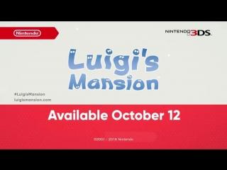 Luigis Mansion 3DS - Co-Op Reveal Trailer (Nintendo Direct)