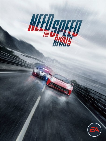 Need For Speed Rivals logo, coverart, логотип, картинка