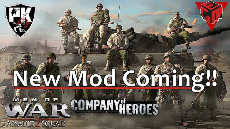 Company of Heroes Mod for MOWAS2 First Look Gameplay