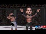 Мультфильм о поединке CM Punk на UFC 225