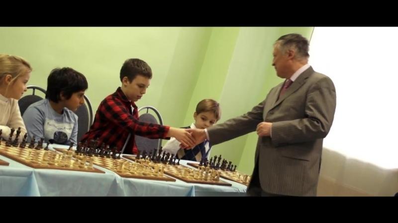 Открытие шахматного клуба Интеллект