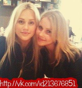 Claire Holt and sister