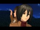 Attack on Titan (Shingeki No Kyojin) [Eren X Mikasa] HD