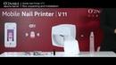 O2nails V11 Принтер для ногтей: распаковка и установка