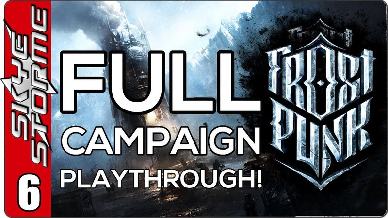 Frostpunk Full Campaign - EP 6 Flying Hunters!