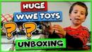 WWE Toys Unboxing - Giant Birthday WWE Toy Haul WWE Unboxing
