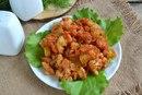 Овощное рагу с цветной капустой и кабачками