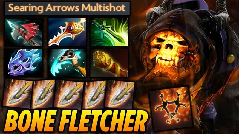 Clinkz Bone Fletcher 35 KILLS [EPIC ARROWS] Dota 2