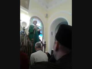 Пятничьный намаз в Тукаевском Соборном мечете