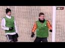 Paradón de Sergio Ramos en el entrenamiento