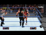 Nikki Bella vs. Braun Strowman vs. Paige vs. Roman Reigns vs. Randy Orton vs. Bray Wyatt