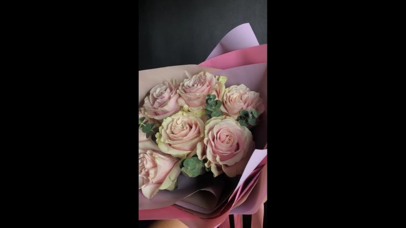Розы Пинк Мондиаль💕