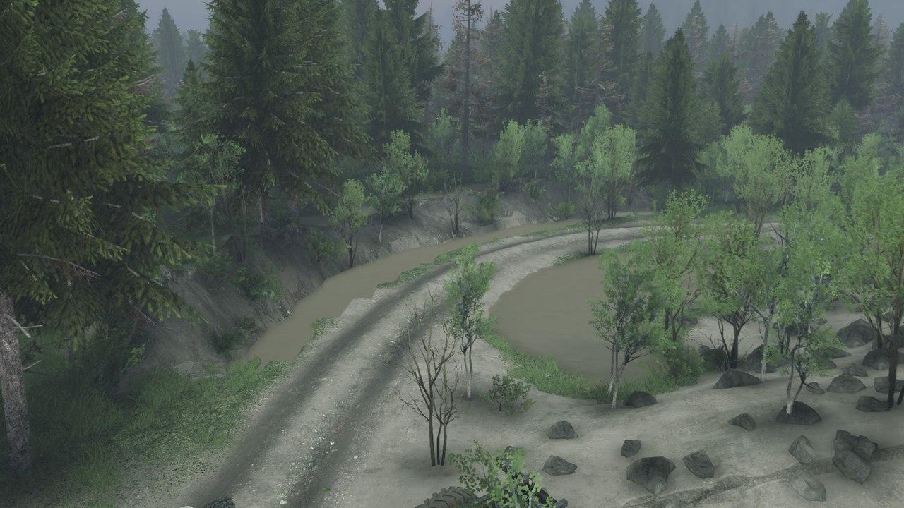 """Карта """"NuB"""" для 13.04.15 для Spintires - Скриншот 3"""