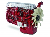 Двигатель Mack Titan.