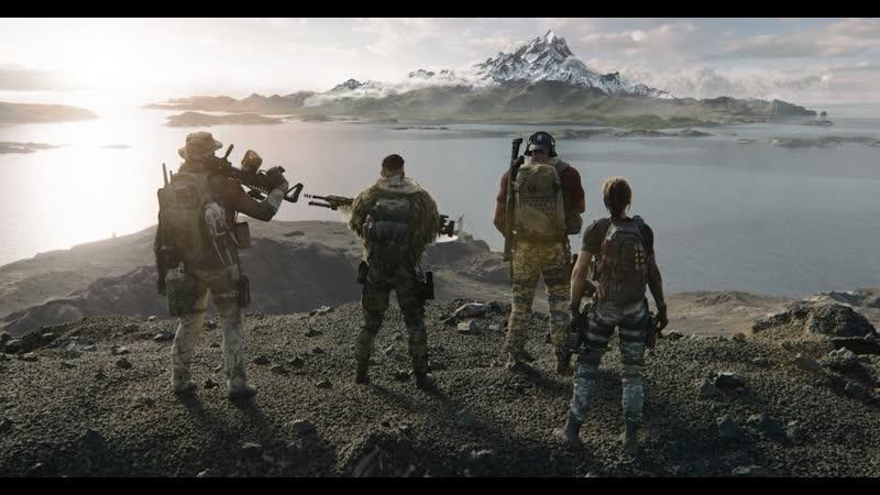 Tom Clancy's Ghost Recon Breakpoint- трейлер Мировая угроза русские субтитры