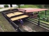 Инновационная система сушки кофе с защитой от дождя