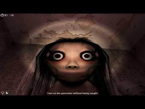 Момо снова вломилась ко мне в дом! Momo the Horror Game