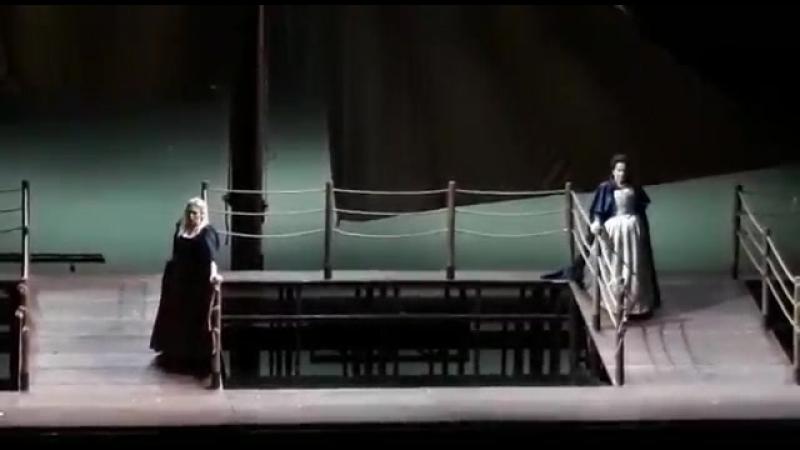 La Gioconda duetto Laura - Gioconda prova generale Piacenza 14 marzo 2018