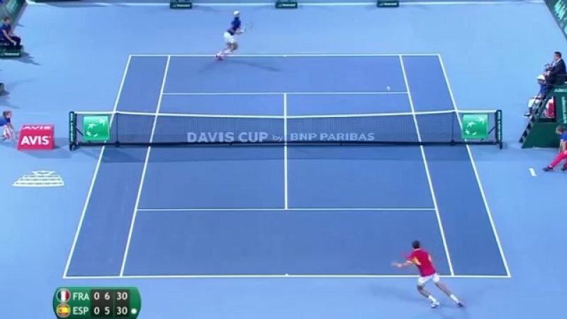 Benoit Paire(FRA) vs Pablo Carreno Busta(ESP) - DAVIS CUP 2018 SF