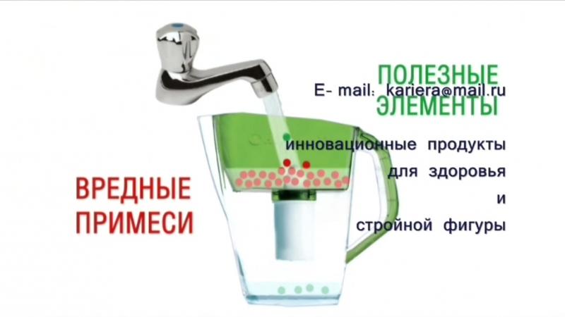 Фильтр для очистки воды от Гербалайф