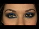 Hilary Duff Rock &amp Roll Blue Smokey Eye