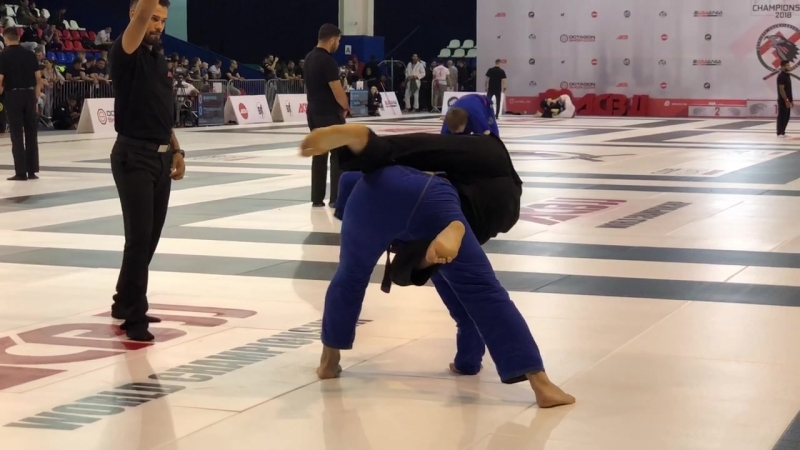 Александр Сак Роман Лукашевич - полуфинал ACB JJ World Championship 2018