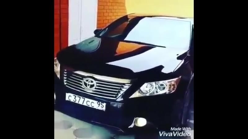 Toyota camry пускает дым (Чечня)-1.mp4