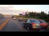 ДТП Прокурорского начальника на Mercedes-Benz Gelandewagen - Новорижское шоссе