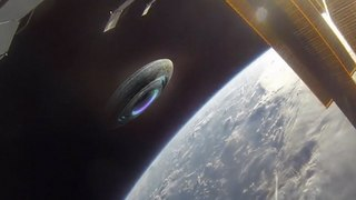 Chilling Claim!! Aliens In Ufo Filmed Observing The Iss Are About To Make Contact!!