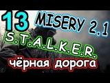 S.T.A.L.K.E.R Зов Припяти MISERY 2.1.1,Чёрная дорога,Разведчик,№13,Ужасная погода и горы трупов