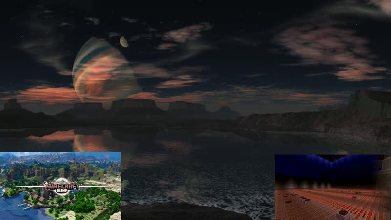Minecraft Эпический мир Докапались до