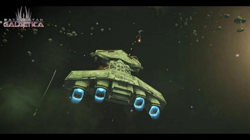 Battlestar Galactica Online - Снова пробуем летать