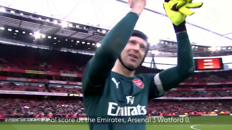 ️ 1000th home PL goal - ️ Ozils 50th PL assist - Cechs 200th PL clean sheet - - This PLMoment is for @Arsenal fans