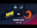 Na`Vi vs TNC, ESL One Mumbai 2019, bo3, game 1 [Inmate Godhunt]